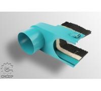 Щетка-насадка на шпиндель 100 мм