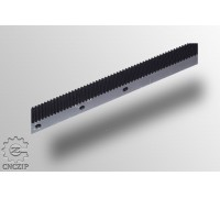 Зубчатая рейка 22x25-М1.25